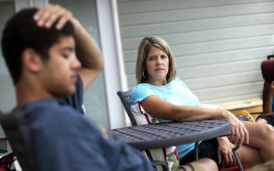 15 Things That Happen When a Parent Enables Their Teenager  Residential Treatment Centers for Troubled Teens in Cross Roads, TX parent struggles with teen 400x250
