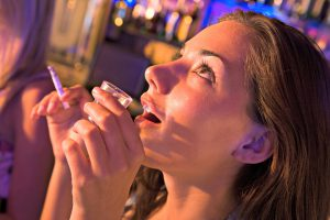 How a Parent's Attitude Influences Teen Drug Use teen drinking smoking and drinking1 300x200