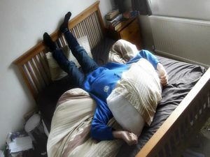 15 Things That Happen When a Parent Enables Their Teenager teen sleeping in 300x225
