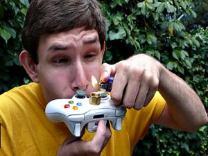 15 Things That Happen When a Parent Enables Their Teenager teen smoking xbox 300x225